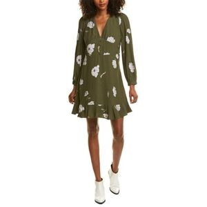 🆕CUPCAKE & CASHMERE V Neck Floral dress siz…